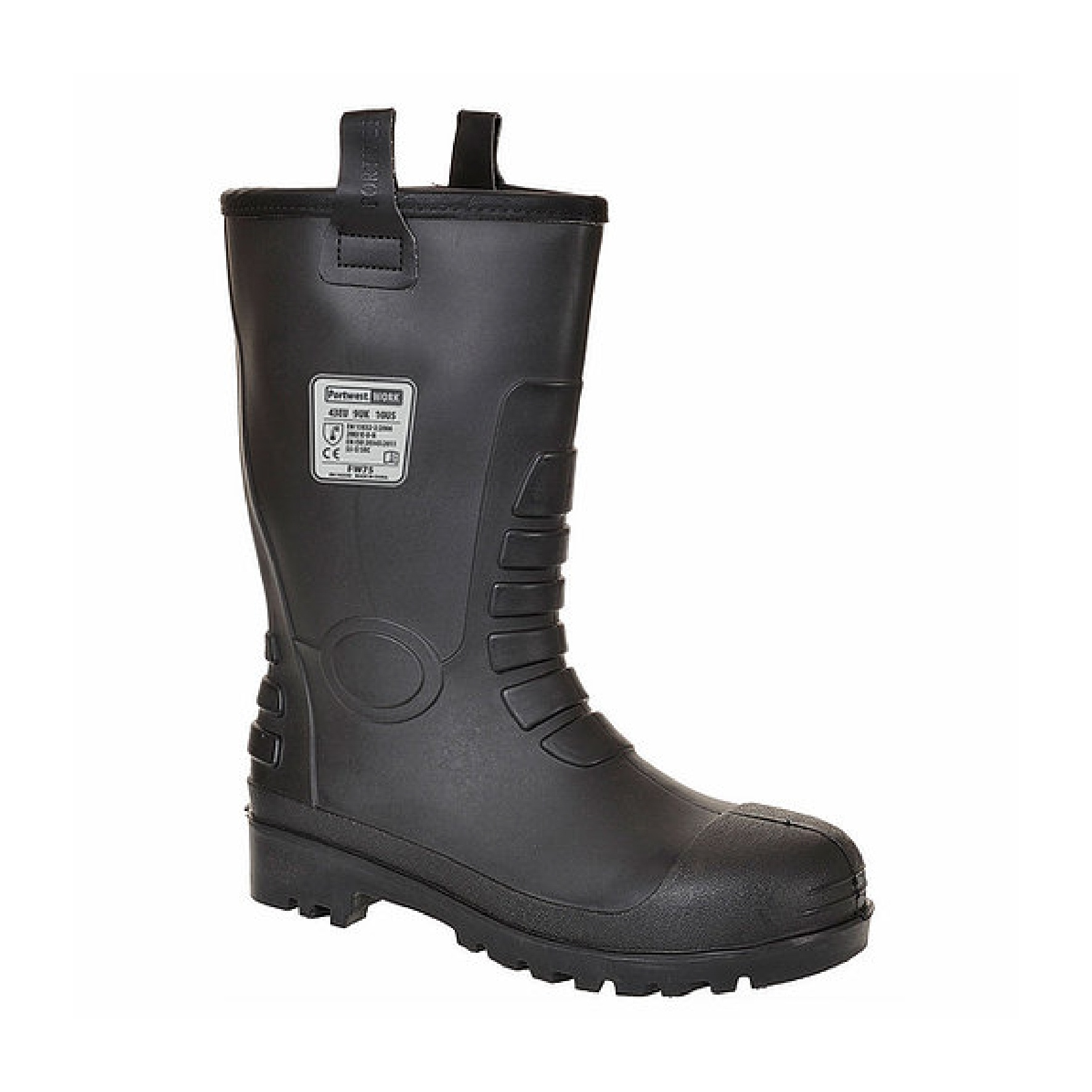 Redrok Workwear Centre Plymouth Neptune Rigger Boot Black