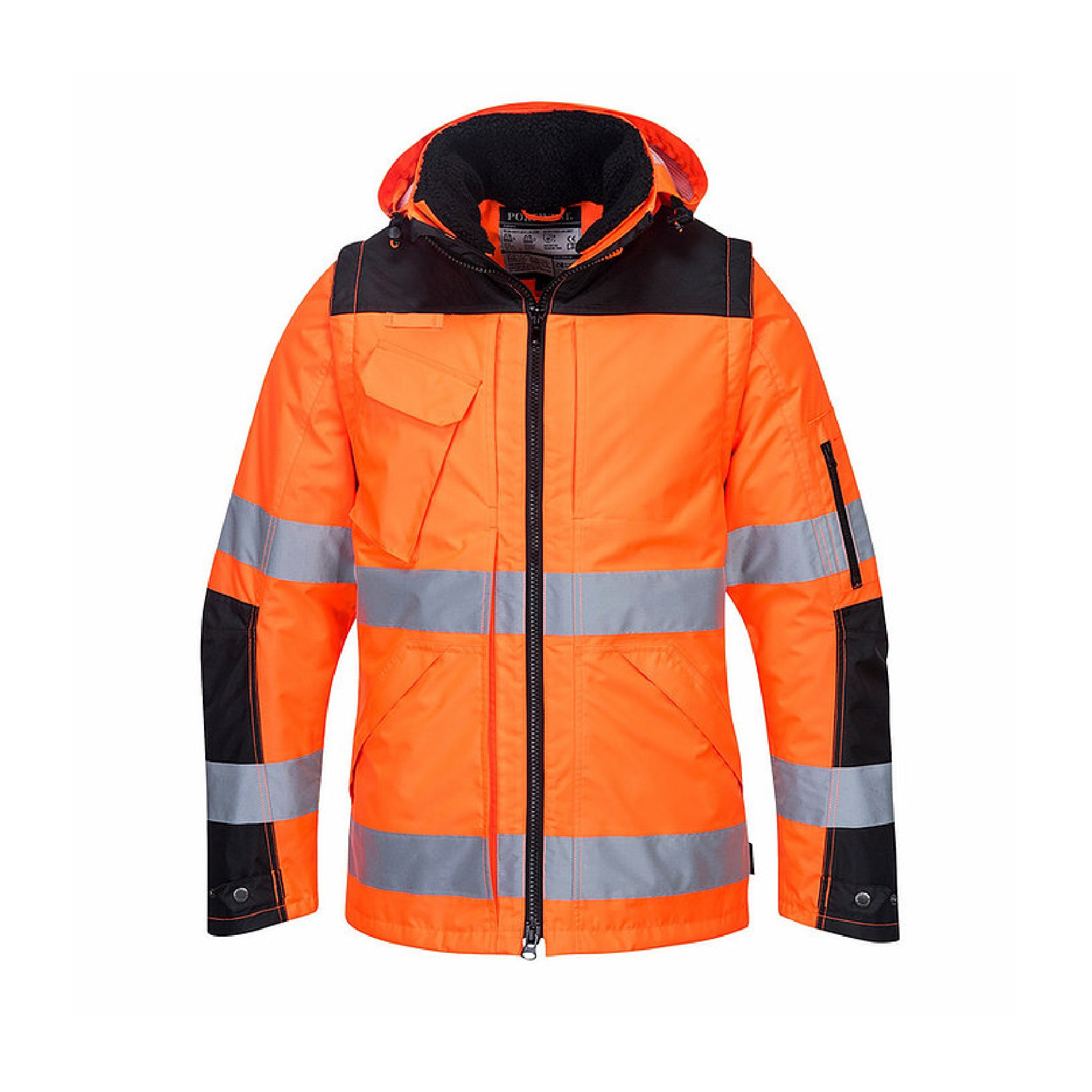 Redrok Workwear Centre Plymouth - Portwest - Pro Hi-Vis 3-in-1 Jacket