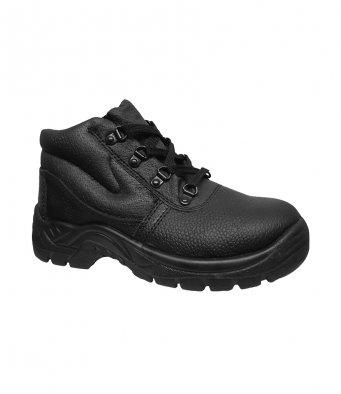 Warrior Steel-Toe Chukka Boots