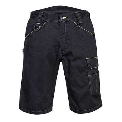 Portwest Work Shorts - Black front