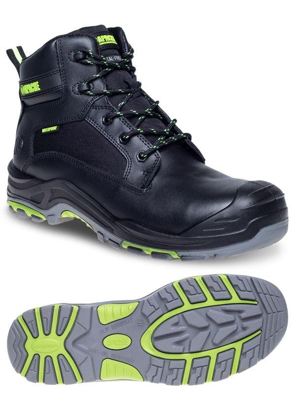 Apache Dakota Waterproof Metal Free Safety Boots